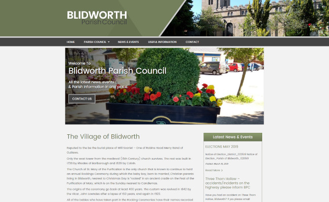 Blidworth Parish Council